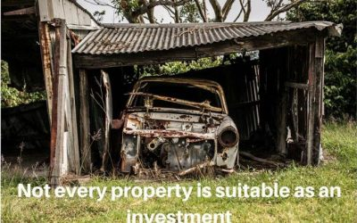 Not every property is suitable as a rental investment